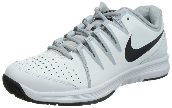 NIKE Women`s Air Cage Court Tennis Shoes Pink and Purple