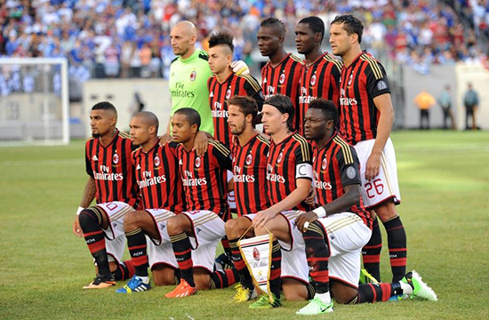Top 10 richest football clubs in the world 2015 check for Best clubs in milan