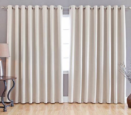 Curtains For Wide Windows - Rooms