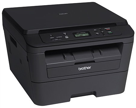 Dcpl2520dw wireless compact multifunction laser printer and copier