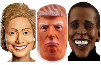 best president masks trump mask hillary mask obama mask