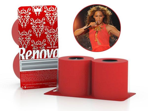 Renova Red Toilet Tissue